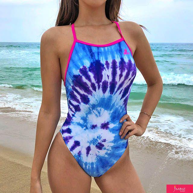 SDM 블루소다 센티 여자선수용 플립턴 수영복