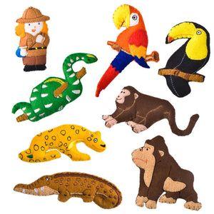 매직캐슬 토독 야생동물3 교육 학습 열대 우림