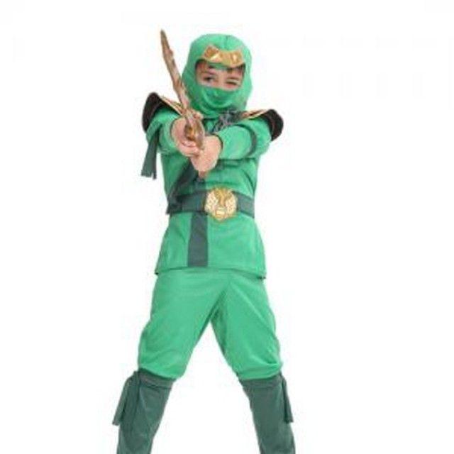 그린닌자디럭스 닌자의상 할로윈의상 캐릭터의상
