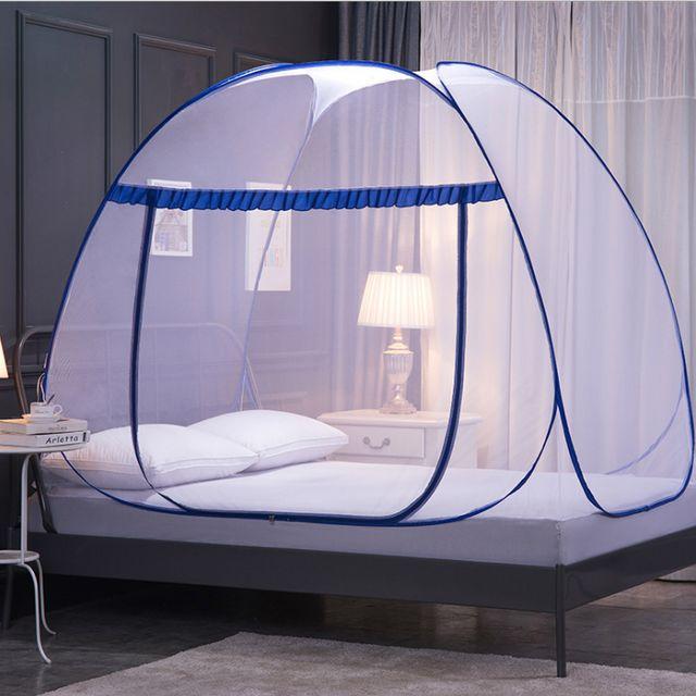 W 침대 모기장 방충망 모기장텐트 대형모기장