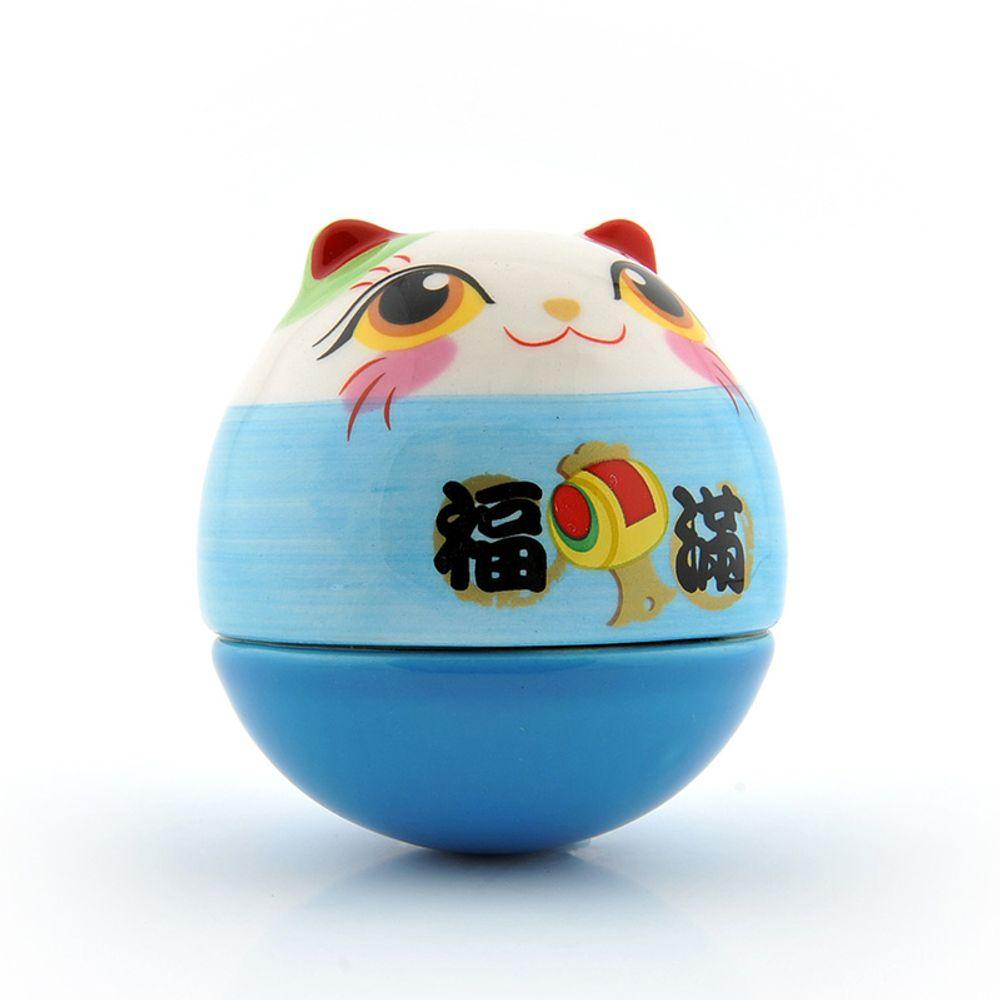 [더산직구]행복 럭키 고양이 장식 미니 텀블러 생일선물/ 영업일기준 5~15일