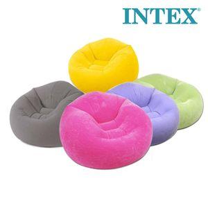 1인용 에어쇼파 에어매트 INTEX 캠핑용품 에어베드
