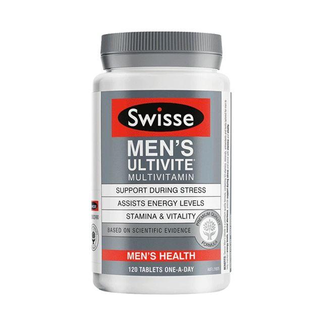 [해외] Swisse 남성 멀티비타민 120정 Multi vitamin for man