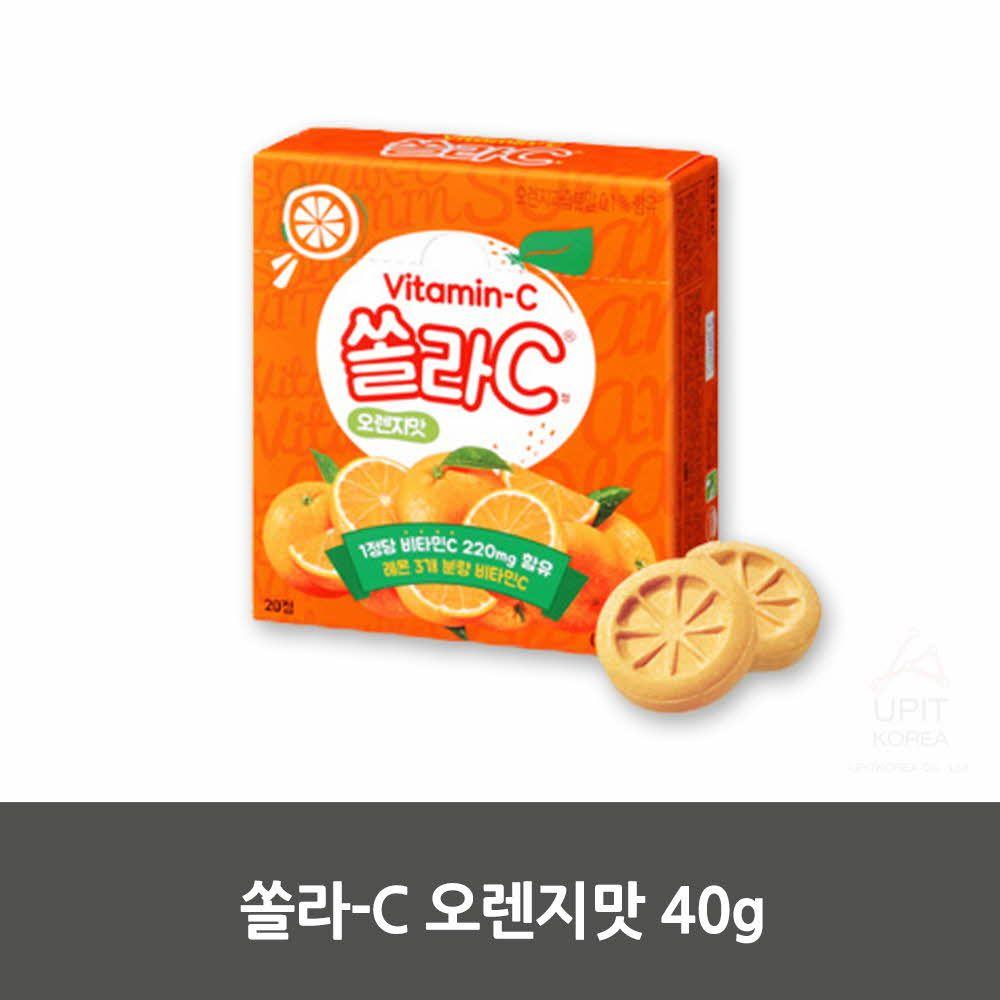 W2D65FF쏠라-C 오렌지맛 40g,생활용품,생활잡화,집안용품,잡화