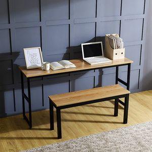 슬림테이블 2인용세트(415A) 사무실 가정용 미니책상