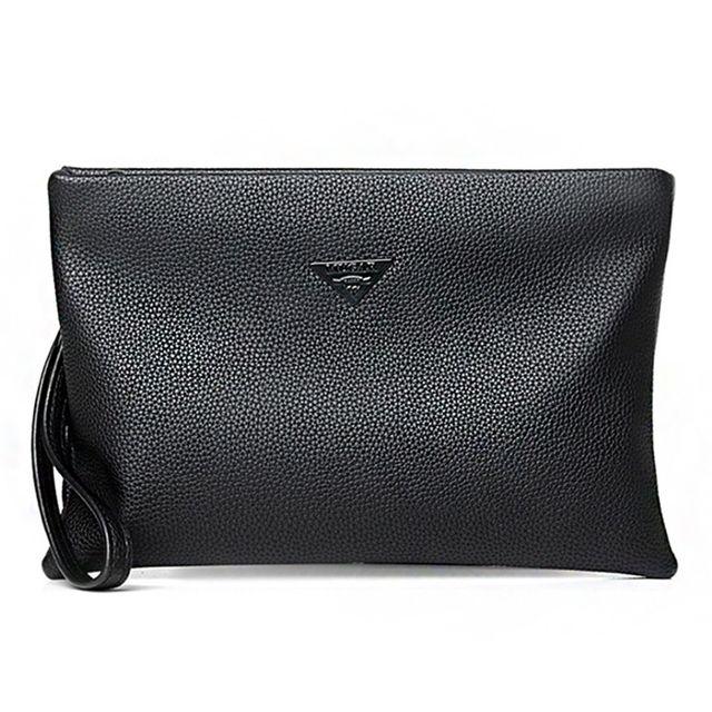 W 심플 핸드 스트랩 깔끔한 남성 여성 클러치백 가방