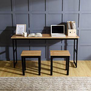 1인용 슬림테이블세트(415) 미니책상 독서 노트북상