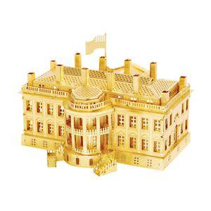 미니 메탈퍼즐 - 워싱턴 백악관 (골드)