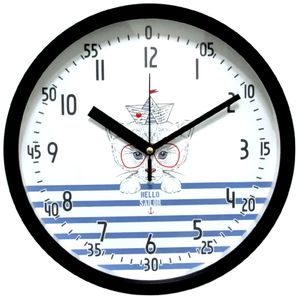 브론즈하우스 EDU-022 교육용벽시계-무소음