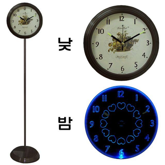 韩国直邮 GB 60006单面取针等兼用台灯表月圈蓝色