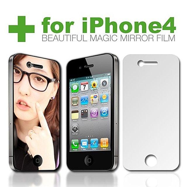 [더산쇼핑]아이폰4 거울 액정보호필름 Beautiful Magic Mirror 액정보호필름 보호필름 스마트폰 스마트폰악세사리
