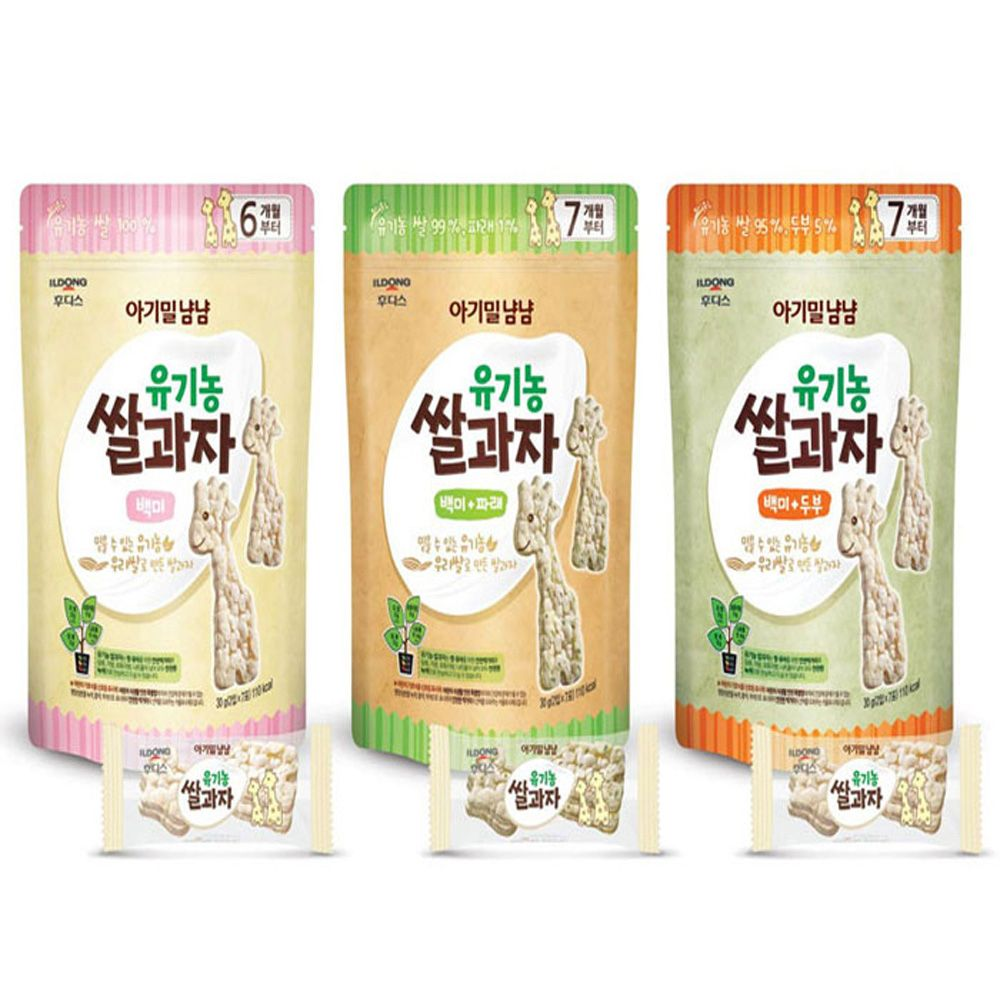 W2F4CD2후디스_ 쌀과자(봉) 3종,후디스,일동후디스,아기음식,아기과자