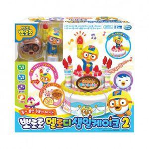 멜로디 모형 생일케이크 캐릭터 역할놀이 장난감
