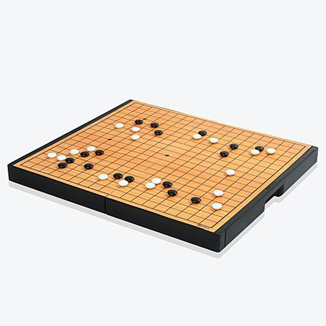 [더산쇼핑]명인 M-106 소형 자석바둑(단면) 명인랜드 가로세로 22.6cm 체스기물서랍내장 교육용 보드게임 보드게임류