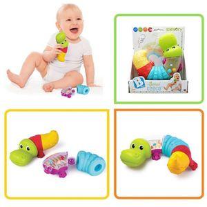 유아 아기 아가 촉감 색감 청각 발달 아기악어 장난감