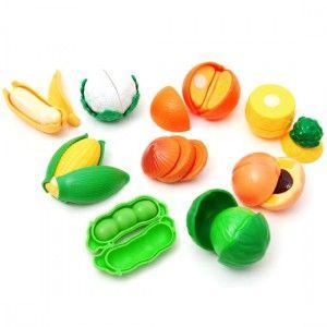 유아용 레드박스 과일과야채놀이세트