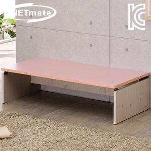 NETmate 좌식 책상 1500x600x320 핑크 컴퓨터 테이블