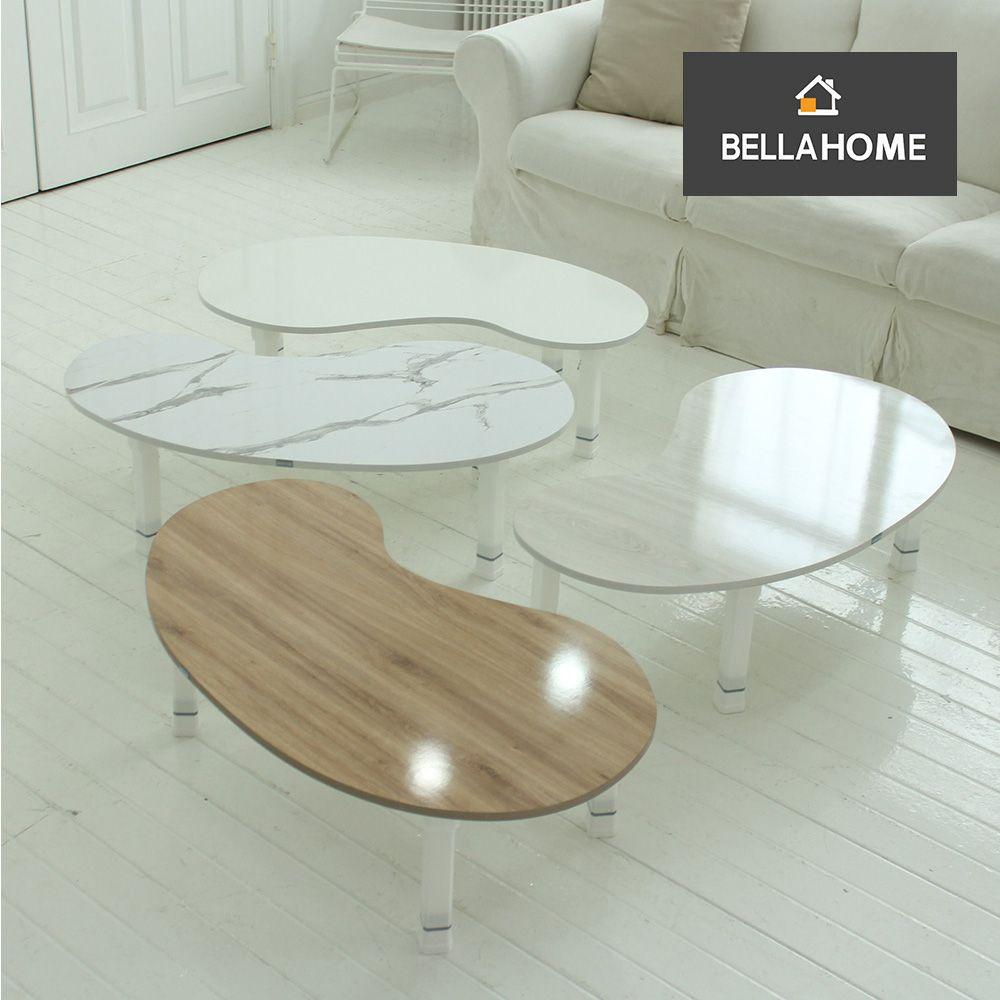 벨라홈 LPM 땅콩 4단 높이조절 접이식테이블(1000X600