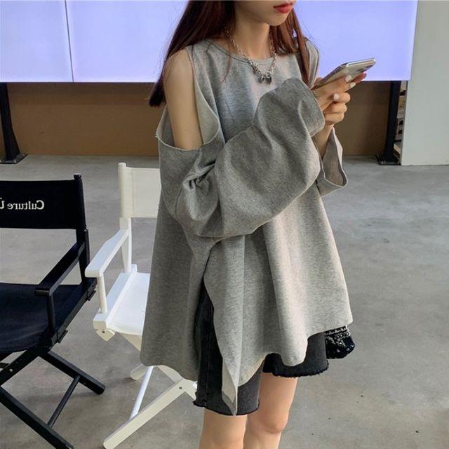 [해외] 여성 패션 티셔츠 칼라 셔츠 캐주얼