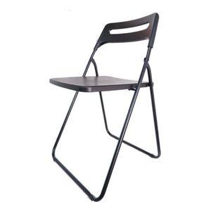 사각 등받이 의자 블랙(SC22053)