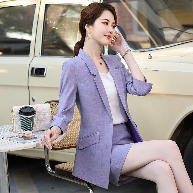 [해외] 여성 패션 재킷 자켓 정장세트자 전문 정장