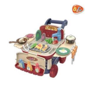 캠핑 쿠킹트롤리 쿠킹 장난감 소꿉놀이 역할놀이