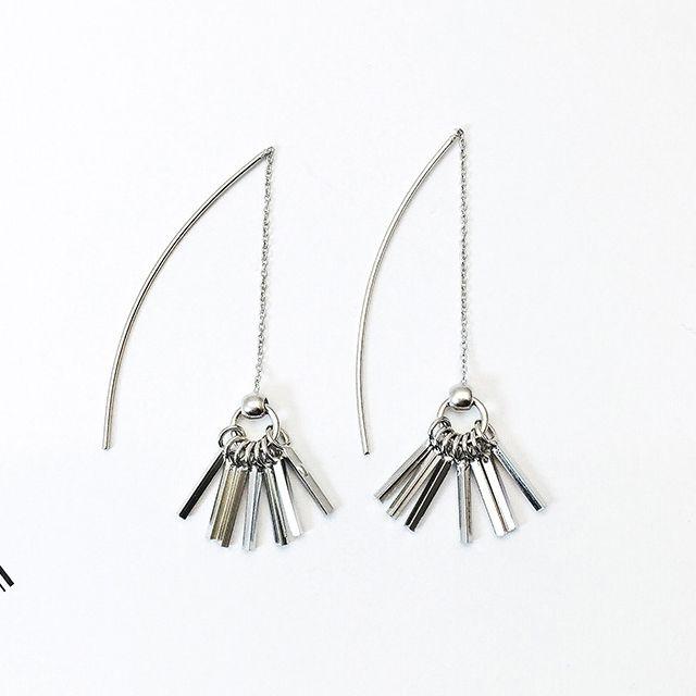 [현재분류명],스털링 실버 수술 와이어 귀걸이-화이트 WD,실버귀걸이,드롭귀걸이,수술귀걸이,패션귀걸이,귀걸이선물