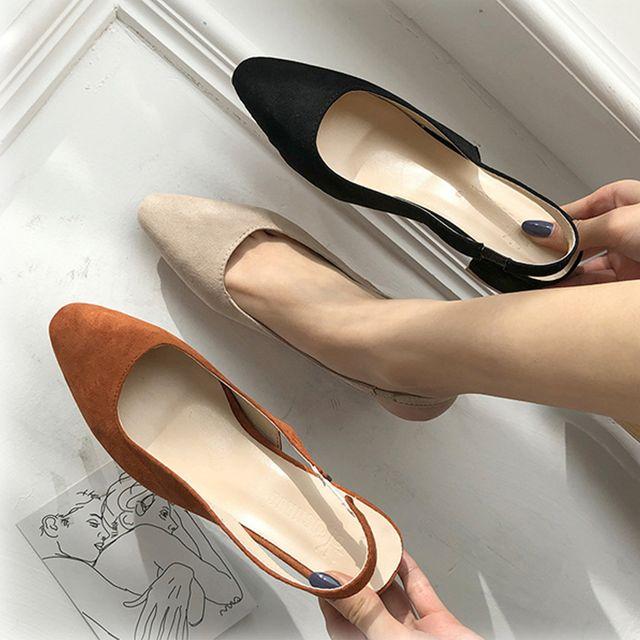 여성 펌프스 가보시힐 키높이 구두 데이트룩 신발