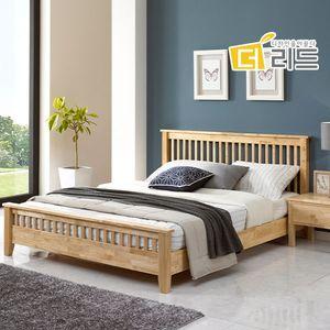 로미 고무나무원목 침대프레임SS