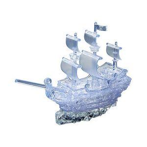 크리스탈 3D 입체 퍼즐 투명해적선(Ship_W)