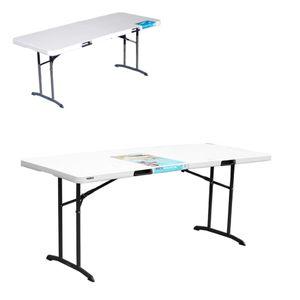 야외용 접이식 정원 테이블 브로몰딩 탁자 6인용 1800