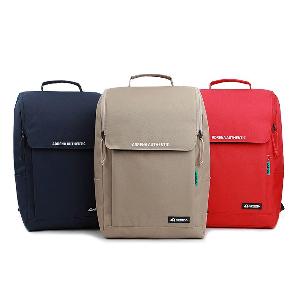 실용성 좋은 사퀘어라인 남녀공용 캐주얼 백팩 가방