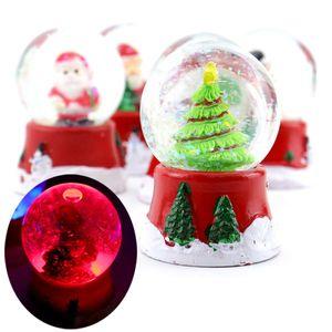 크리스마스 라이트스노우볼 6개 (랜덤) 워터볼 장식용