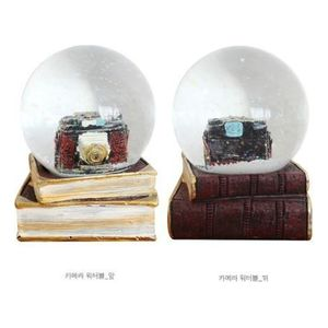 워터볼 빈티지 카메라 카페 인테리어 테이블 소품