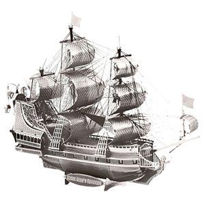 미니 메탈퍼즐 - 해적선 (실버)