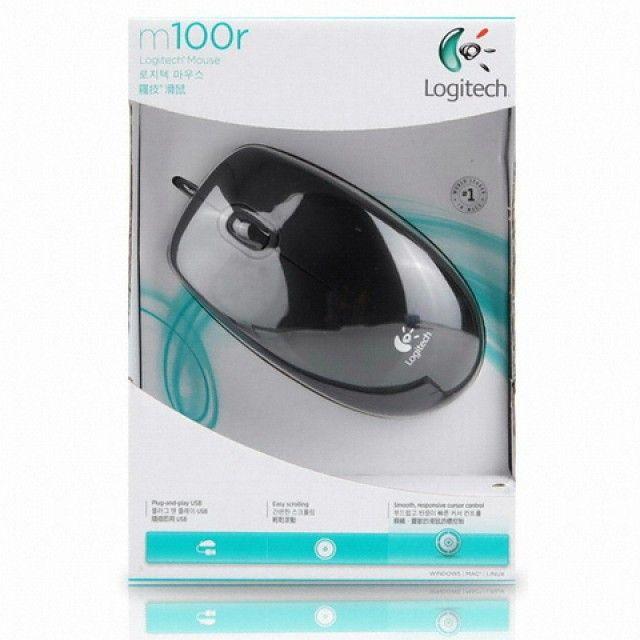 무료배송 로지텍 M100r 마우스 (블랙)