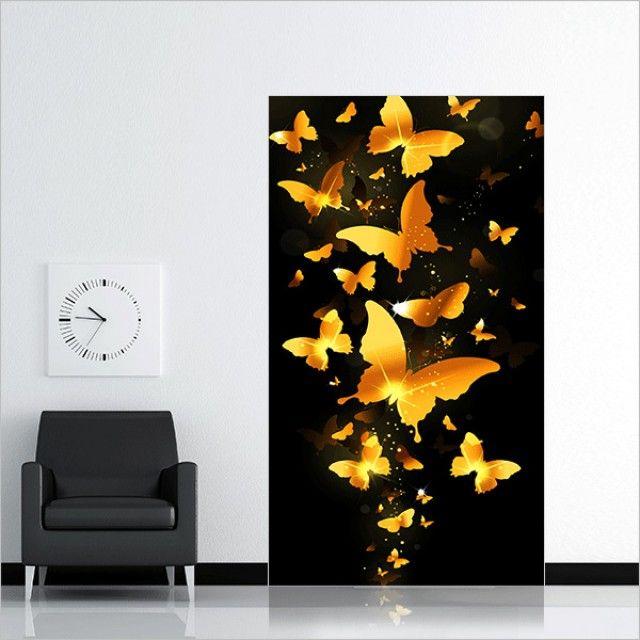 보석십자수 5D 황금나비 (30x60cm)