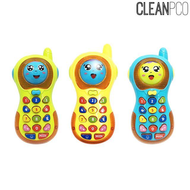 전화기장난감 얼굴변신 멜로디 영어 숫자공부전화기