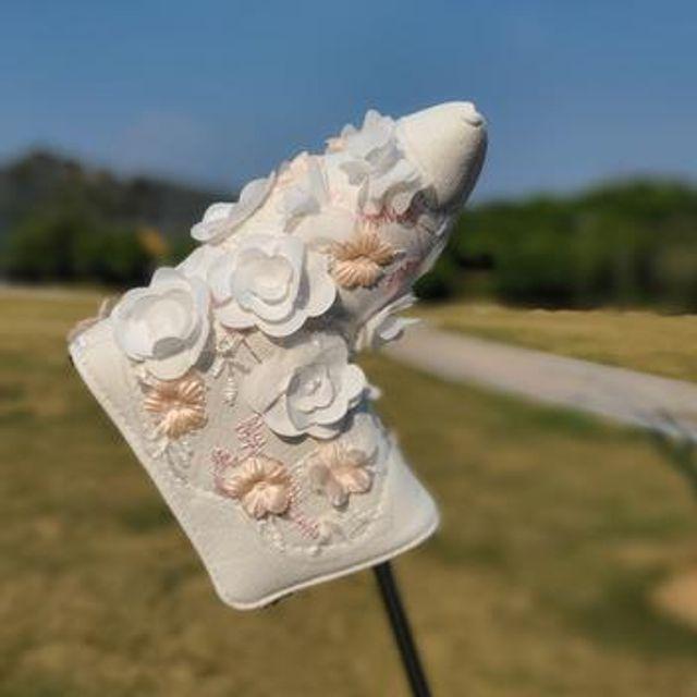 [해외] 골프용품 장미 헤드커버 필드 퍼트 퍼팅 커버