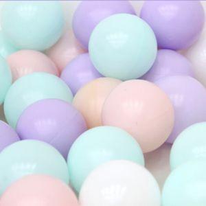 실내 놀이 공간 키즈 놀이터 마시멜로 볼풀공 200개