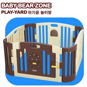 쿠쿠토이즈 아기곰 놀이방 (브라운)