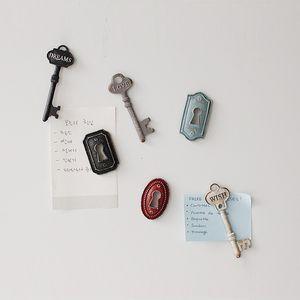 인테리어 열쇠 메모 보드 마그네틱 6P 세트