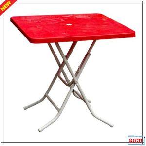 4인용 접이식 사각탁자 다양한 파라솔 테이블