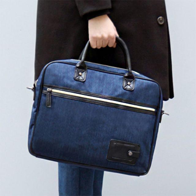 W 캐주얼룩 디자인 데일리 남자 출퇴근 가방 서류가방