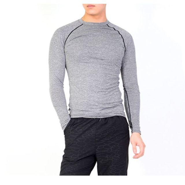 W 남성 래쉬가드 솔리드 티셔츠 비치웨어 운동복 물놀이