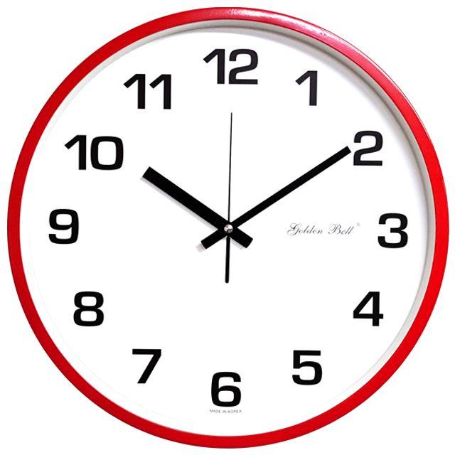 韩国直邮 韩国GB制造36.5厘米的无袖时钟