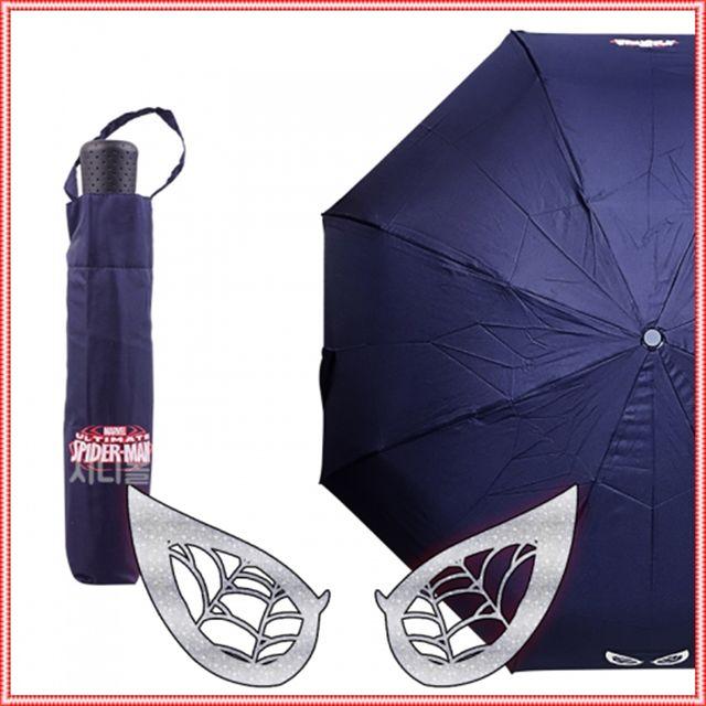 마블 스파이더맨 거미줄 우산 58cm(네이비)(980248)
