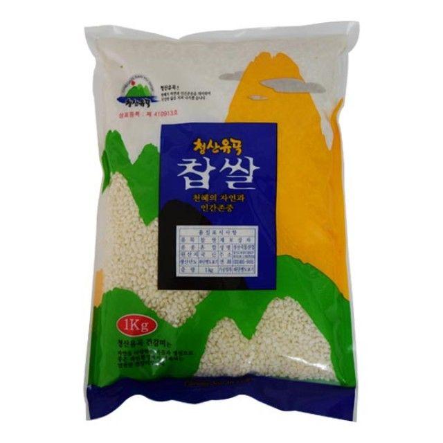 청산유곡 찹쌀 1kg,찹쌀,잡곡,청산유곡찹쌀,청산유곡,식품