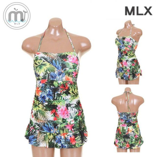 (MLX) 여자 비치웨어 원피스 수영복-DM_207