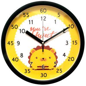 브론즈하우스 EDU-006 교육용벽시계-무소음